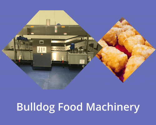 New Bulldog Food Machinery for the food manfacturing industry