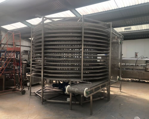 Bulldof Spiral Freezers and Chillers