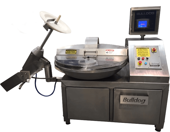 Bulldog Bowl Cutters For Food Manufacturing & Processing Industries